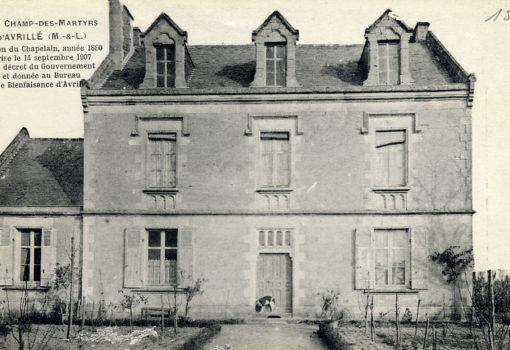 Champ des Martyrs - Maison du Chapelain