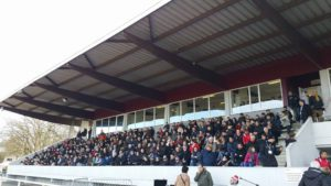 Delaune - tribune stade