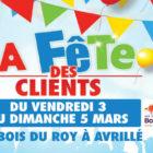 La fête des clients, Centre commercial du Bois du Roy